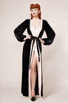 Oh I need a robe like this...Vintage Blog - The Pink Collar Life
