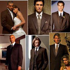 Various Brown Tuxedo ideas