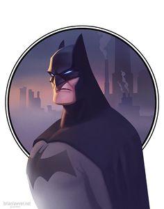 Batman by Brian Lawver