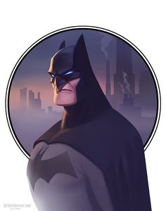 Batman by Brian Lawver