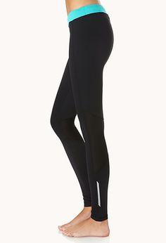 Reflective Skinny Performance Leggings