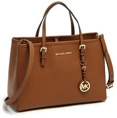 MICHAEL Michael Kors 'Jet Set – East/West' Saffiano Leather Tote, Medium on shopstyle.com