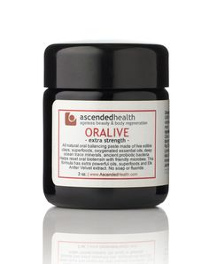 Oralive.  Never use toothpaste again.