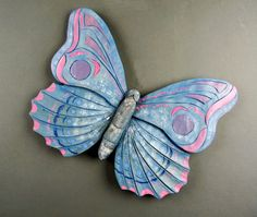 Butterfly carved by DavydovArt on Etsy
