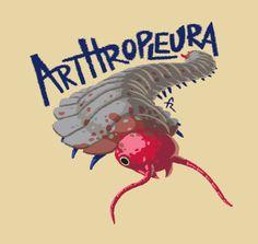 Arthropleura - Franxurio