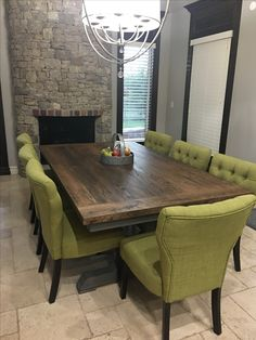 We Made This 4 X7 Reclaimed Oak Table For One Of Our Sons And
