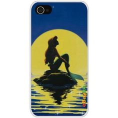 Amazon.com: 5GTLM-17W The Little Mermaid iPhone 5G iPhone5 At Sprint Verizon Hard Case Cover with eBayke Logo: Cell Phones & Accessories