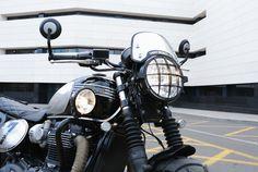 Triumph Bonneville T120, Motos Triumph, Style, Motors, Black, Swag