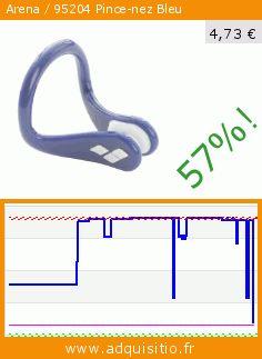 Arena / 95204 Pince-nez Bleu (Vêtements). Réduction de 57%! Prix actuel 4,73 €, l'ancien prix était de 11,09 €. https://www.adquisitio.fr/arena/95204-pince-nez-bleu