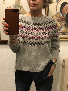 Knitted Coat Pattern, Sweater Knitting Patterns, Knitting Designs, Knitting Projects, Fair Isle Knitting, Knitting Yarn, Baby Knitting, Icelandic Sweaters, Coat Patterns