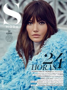 Victoria's Secret model Lily Aldridge dazzles as a rocker babe, lensed by  David Roemer for S Moda's November 8 issue. Chabela Garcia chooses a lot of  color, bold prints and a dash of dazzle for Rock 'affaire/ Hair by keith  Carpenter; makeup by Kristin Gallegos