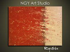 NGY   R Silva Original Modern Abstract  Fine Art by NGYartstudio, $65.00