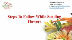 Steps To Follow While Sending Flowers | New City Florist NY