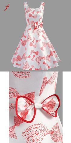 womens dresses plus size Cheap Dresses, Buy Directly from China Suppliers:Plus Size Dress Female Summer Sundresses 2018 Women Bow Musical Note Printing Sleeveless Vestidos Evening Party Vintage Dress toddler dresses Casual Summer Dresses, Dresses For Teens, Cute Dresses, Vintage Dresses, Summer Sundresses, Girls Dresses, Plus Size Cheap Dresses, African Fashion, Kids Fashion