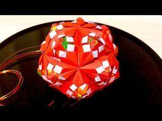 折り紙 花のくす玉 Origami Kusudama - YouTube