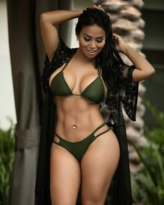 Thank you for the love and all the #wcw posts.Here is a picture for you 💞 Wearing@barsandbranchesone bikini 👙 one of my favorite one from my lin... - Dolly Castro (@missdollycastro)