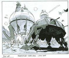 Звездные Войны - Концепт-арты и кадры из фильмов. – 589 фотографий