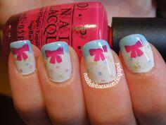 Bow #nails