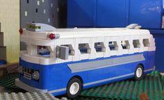 50s Coach Brickmania Toy Works in N.E. Minneapolis Minnesota, USA #coach #50s #bus