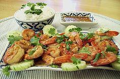 Thai - Garnelen mit Limetten - Knoblauch - Chili - Koriander - Vinaigrette, ein gutes Rezept aus der Kategorie Krustentier & Fisch. Bewertungen: 12. Durchschnitt: Ø 4,2.