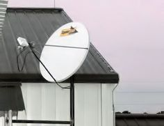 Field office satellite internet phone and data connection - remote business satellite services