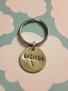 Bazinga.. Big Bang Theory - keychain