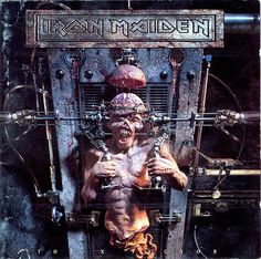 X Factor - Iron Maiden (Released October 2nd 1995) Illustration by Derek Riggs.