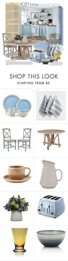 Add a touch of Coastal Living to your table with this 16 piece Cape ...
