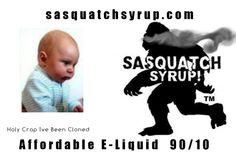 Sasquatch Syrup E-Juice