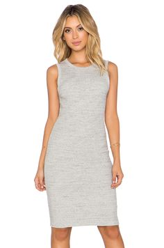 James Perse Crewneck Rib Tunic Dress