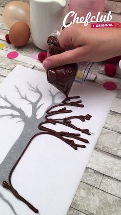 Cake Decorating Videos, Cake Decorating Techniques, Cake Decorating Frosting, Baking Recipes, Cake Recipes, Dessert Recipes, Comida Diy, Kreative Desserts, Delicious Desserts