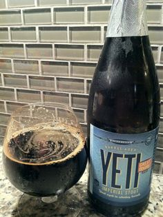 Great Divide Oak Aged Yeti, aged in Stranahan Whiskey...