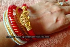 Shakha Pola for the bengali bride!!