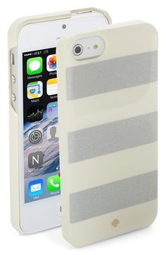 WHY DON'T THEY HAVE THIS FOR THE 6 YET???  kate spade new york 'jubilee stripe' iPhone 5 & 5s case available at #Nordstrom