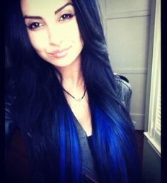 Blue Ombre Hair | Blue Ombre' Individual extensions by Arax | Yelp