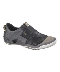 Look at this Charcoal Boutique Leather Slip-On Sneaker - Men on  zulily  today c22ae845a