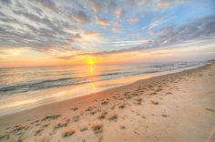 Sandbridge Beach Surnise... Beautiful!  Siebert Realty - Virginia Beach, VA    #SandbridgeSpring14