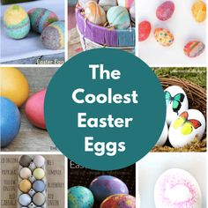 The Coolest Easter Egg Ideas Holiday Crafts For Kids, Easter Crafts For Kids, Holiday Fun, Easter Ideas, Holiday Foods, Easter Recipes, Kid Crafts, Appetizer Recipes, Holiday Recipes