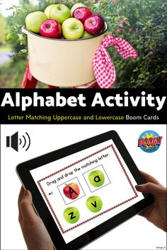 Fantastic activity for my students who love apples! Great to practice alphabet letters through a fun game! #autismclassroom #alphabet #apples Autism Classroom, Classroom Resources, Learning Resources, Teacher Resources, Teaching Ideas, Teaching Secondary, Classroom Management Tips, Kindergarten Curriculum, Letter Matching