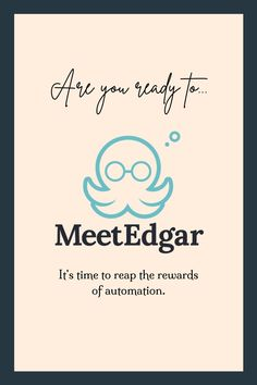 Let Edgar manage all of your social feeds: Facebook (Pages + Groups, Twitter, LinkedIn, (Profile + Company Pages), Instagram + Pinterest! $19 Business Planning, Business Tips, Social Media Automation, Library Organization, Creative Writing Tips, Logo Design Trends, Social Media Channels, Promote Your Business, Seo Tips