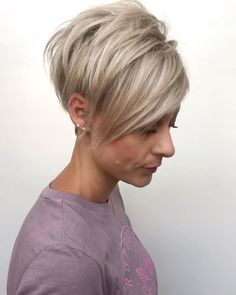 Today we have the most stylish 86 Cute Short Pixie Haircuts. We claim that you have never seen such elegant and eye-catching short hairstyles before. Pixie haircut, of course, offers a lot of options for the hair of the ladies'… Continue Reading → Short Hairstyles For Thick Hair, Haircut For Thick Hair, Short Pixie Haircuts, Short Hair Cuts For Women, Pixie Hairstyles, Short Hair Styles, Fashion Hairstyles, Images Of Short Hairstyles, Short Womens Hairstyles