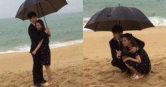 "Lee Dong Wook Shows His Manners by Sharing an Umbrella With ""Hotel King"" Co-Star Lee Da Hae Lee Da Hae, Lee Dong Wook, Hotel King, Gumiho, Fnc Entertainment, Grim Reaper, Manners, Tv Shows, Actresses"