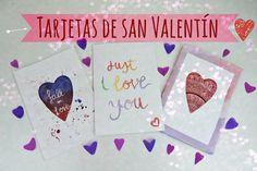 Como hacer tarjetas para san valentín - How to make San Valentine's Day ...