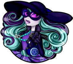 Twyla haunted couture by THEMONSTERMANIAC