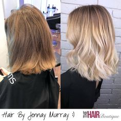 Beautiful blonde Balayage by Jennay Murray today :) Jennay used Olaplex to improve the strength and condition of the hair whilst giving her client this beautiful colour. The end result was this stunning transformation for her client.⠀ ⠀