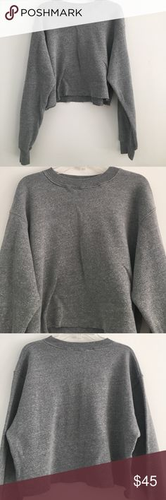 Brandy Melville Crewneck Sweater Great condition never worn Brandy Melville Sweaters