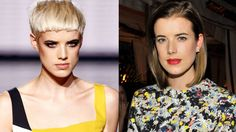 The best model hair transformations of all time: Agyness Denn Hair, Model Hair, Model, Supermodels, Agyness Deyn, Fashion, Hair Transformation, Hair Makeup, Best Model