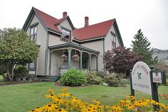 The Holly Hill House Port Townsend Holly Hill, Port Townsend, House On A Hill, Home And Away, Victorian Homes, Sweet Home, Mansions, House Styles, Pretty