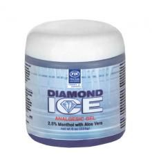 Diamond Ice gel - masážní gel s aloe vera