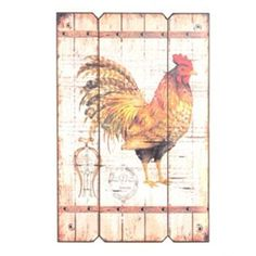 Farm Roost I Wall Plaque